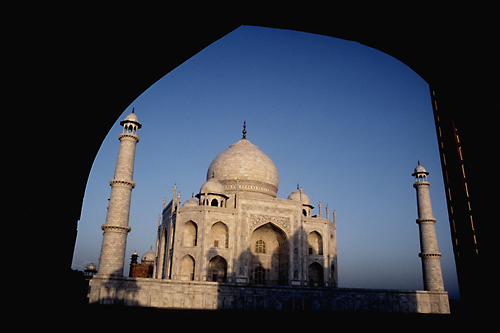 Taj Majal at Dawn