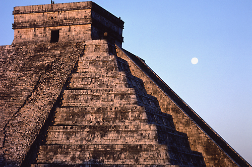 Dawn over Chichen Itza
